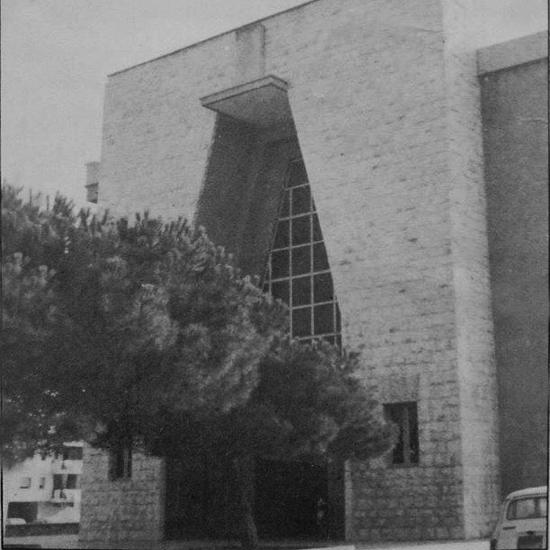Esterno_Anni_80_Chiesa_Sacra_Famiglia_Siracusa